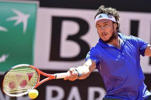 Roma: Mónaco dejó pasar su chance ante Wawrinka; cayó Schwartzman