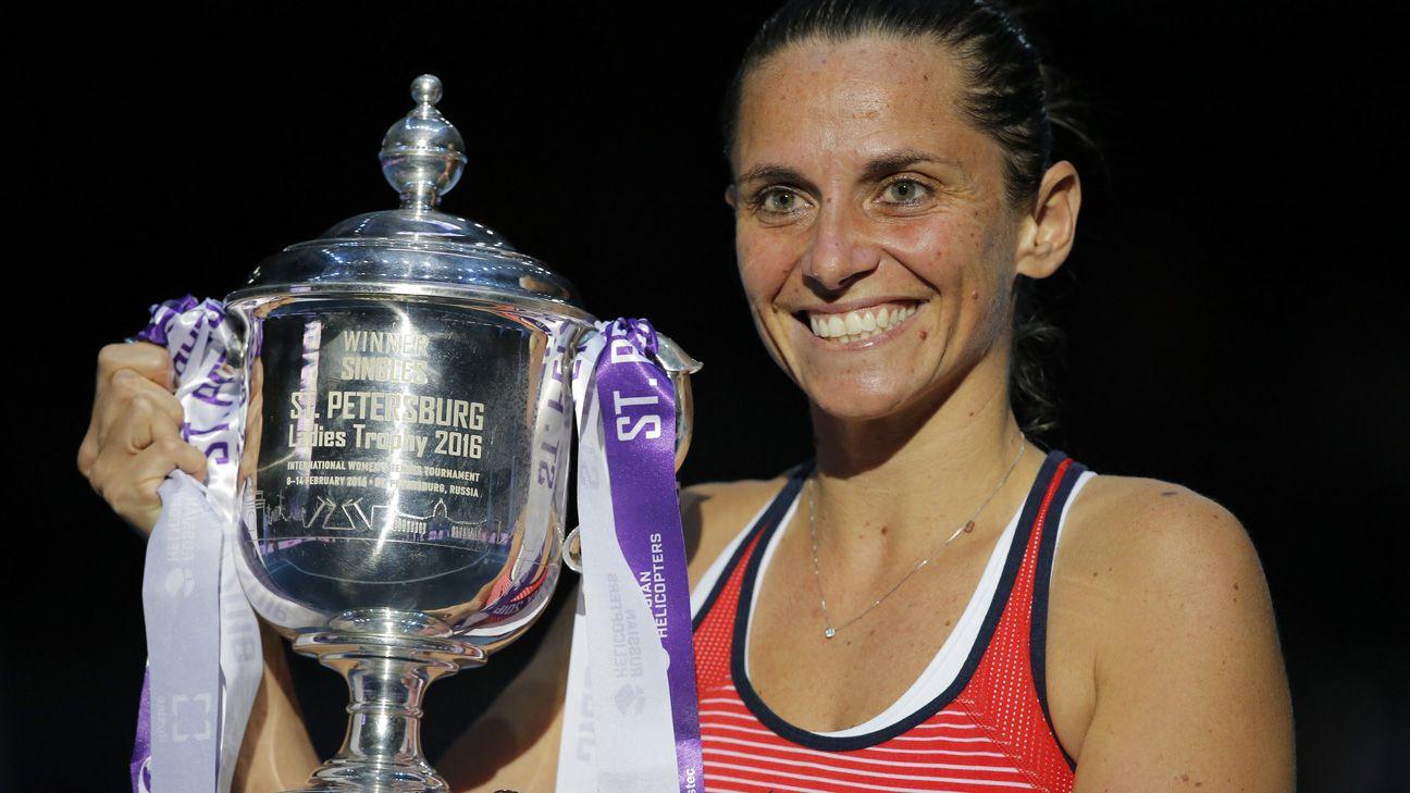 Roberta Vinci se lleva el torneo de San Petersburgo y suma un título después de 3 años de sequía.