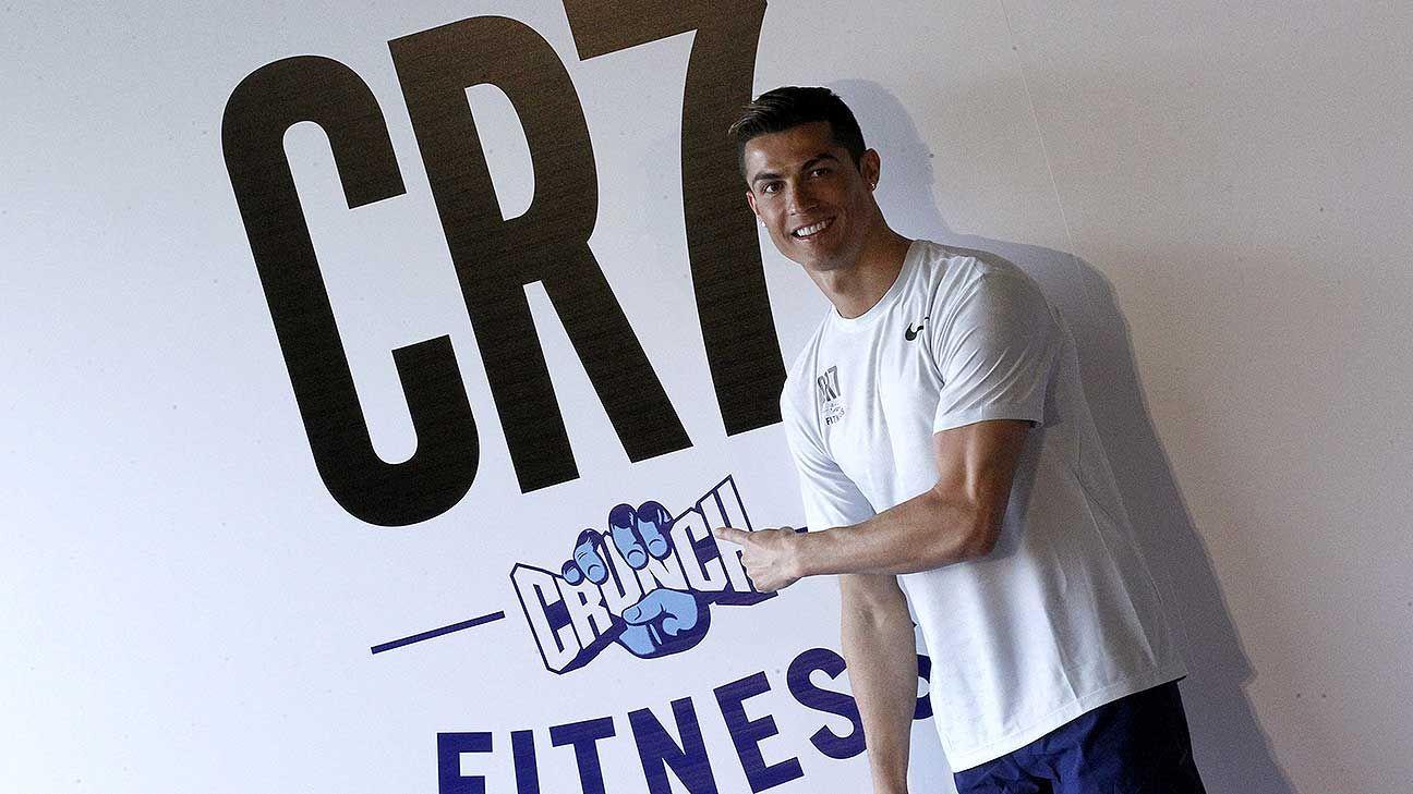 Cristiano hace alianza con una cadena de gimnasios for Cadena gimnasios
