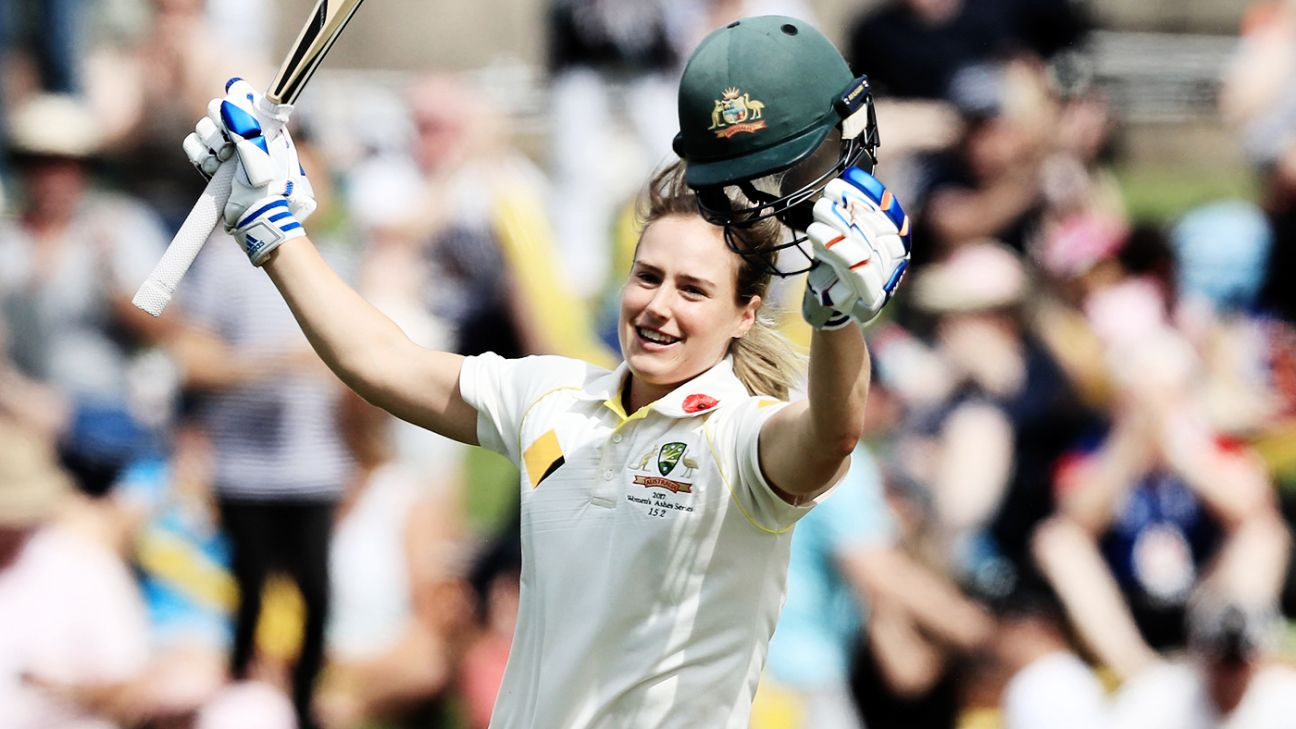 Ellyse Perry declared ICC's Women's Cricketer of the Year