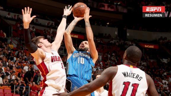 Resumen Orlando Magic 110 99 Miami Heat Espn Video