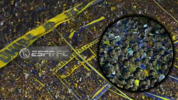 Explot la bombonera espn video for Puerta 2 cancha de boca