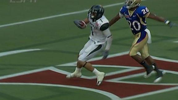 Tulsa vs Hawaii Highlight - ESPN Video