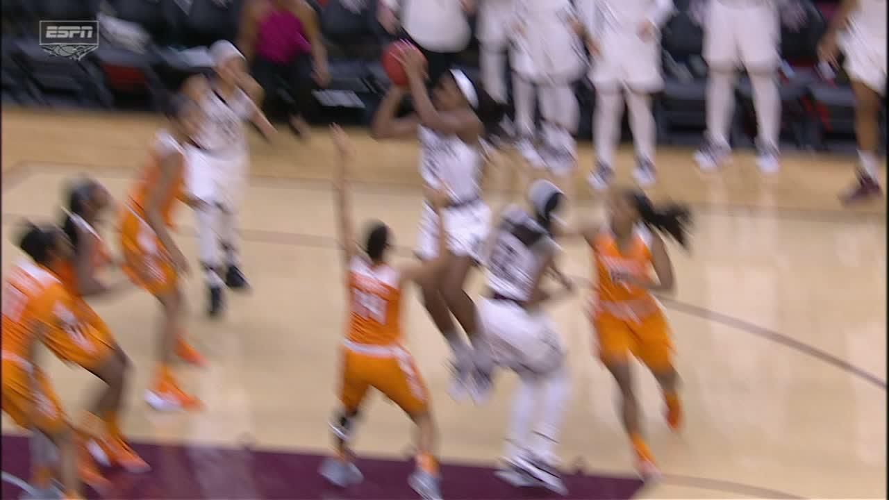 A. Howard made Jumper to tie it up with six seconds to go ...