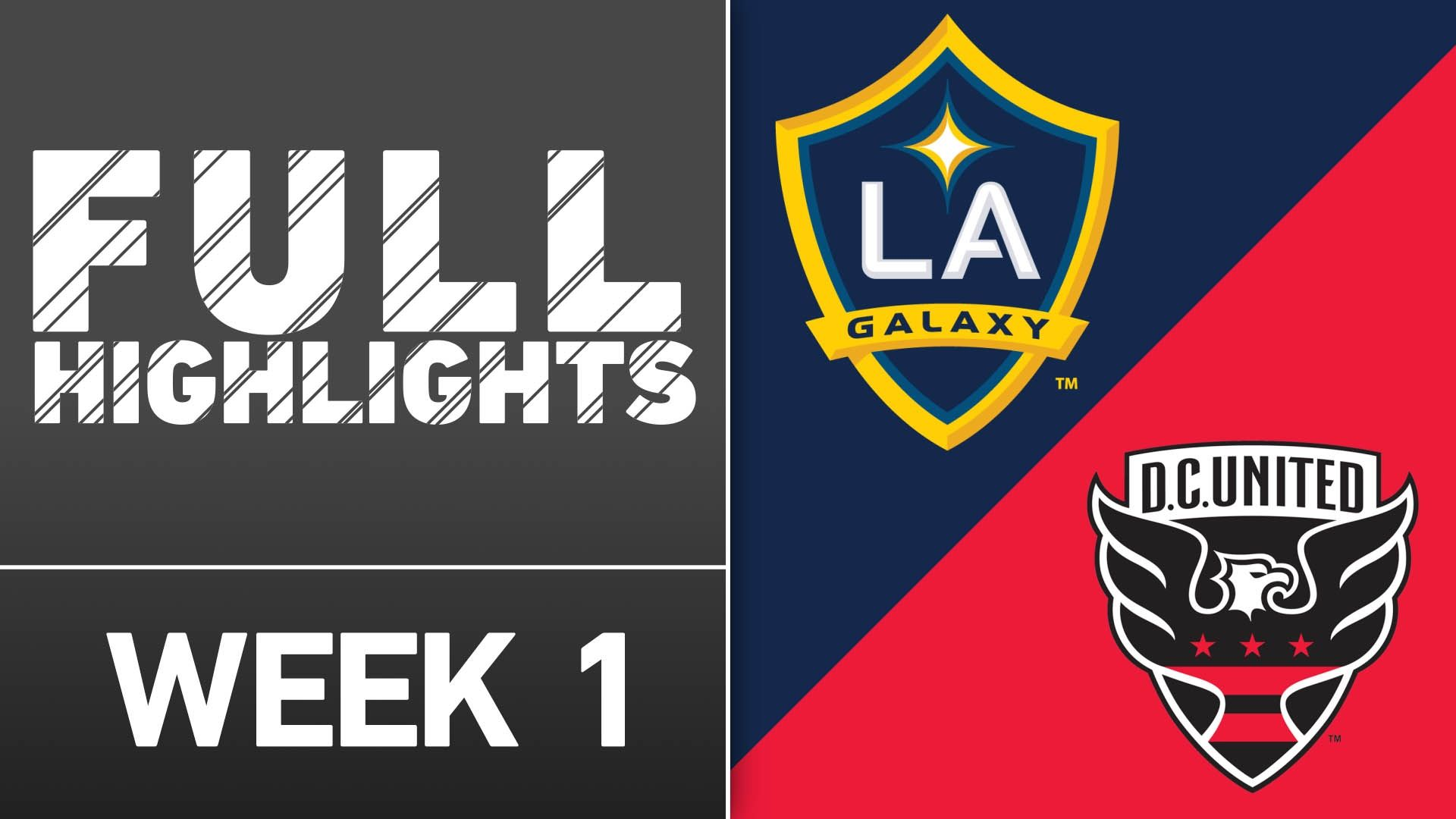 Video via MLS: D.C. United vs LA Galaxy | March 6, 2016 - ESPN Video