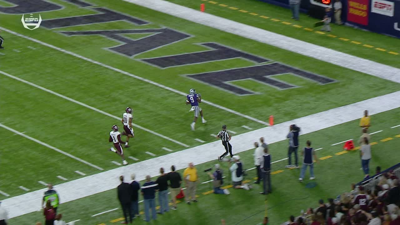 Kansas State's Pringle sprints 79 yards for touchdown