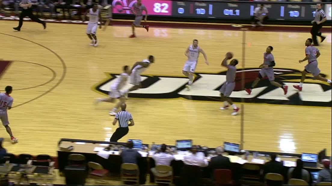 Ragin' Cajuns win on half-court buzzer-beater - ESPN Video