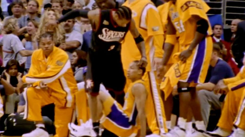 On this date: Iverson steps over Lue in NBA Finals - ESPN Video