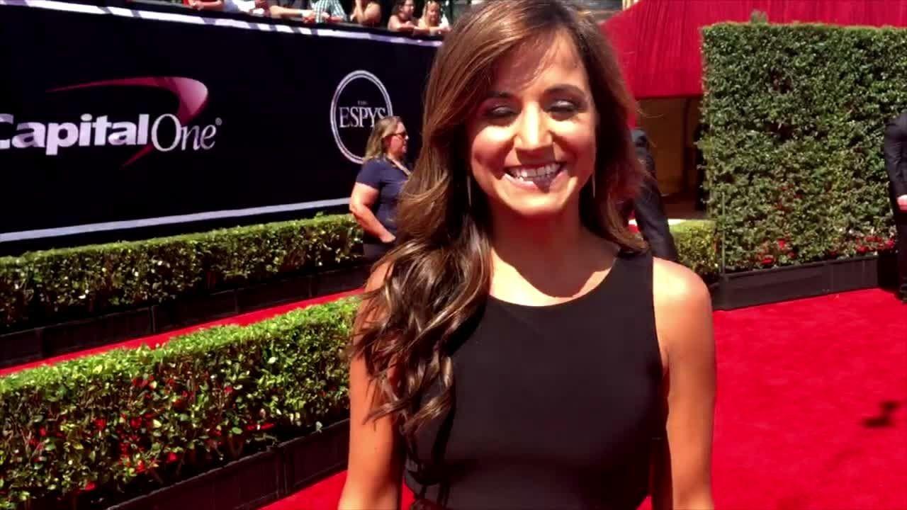 Russini makes her red carpet debut - ESPN Video