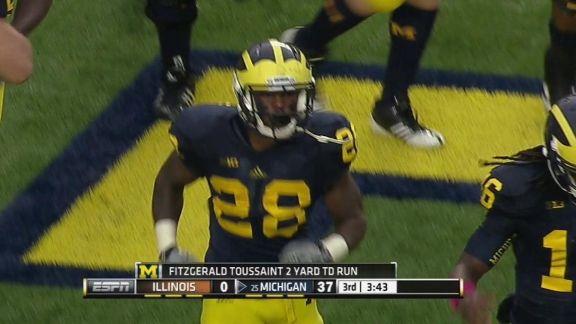 Lomachenko Vs. Rigondeaux >> Michigan vs Illinois Highlight - ESPN Video