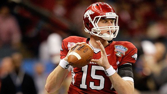 2011 Nfl Draft Why Ryan Mallett Is A Better Prospect Than