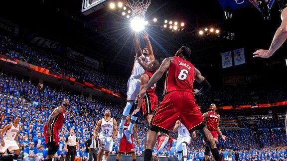 Infographic: NBA Finals' epic performances