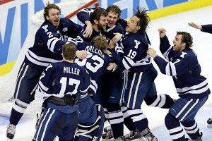 Yale wins first NCAA hockey title