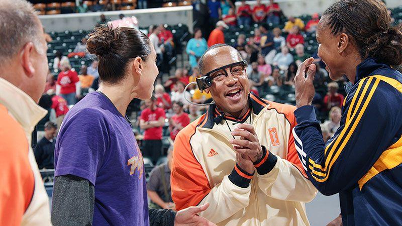 WNBA debuts referee cam