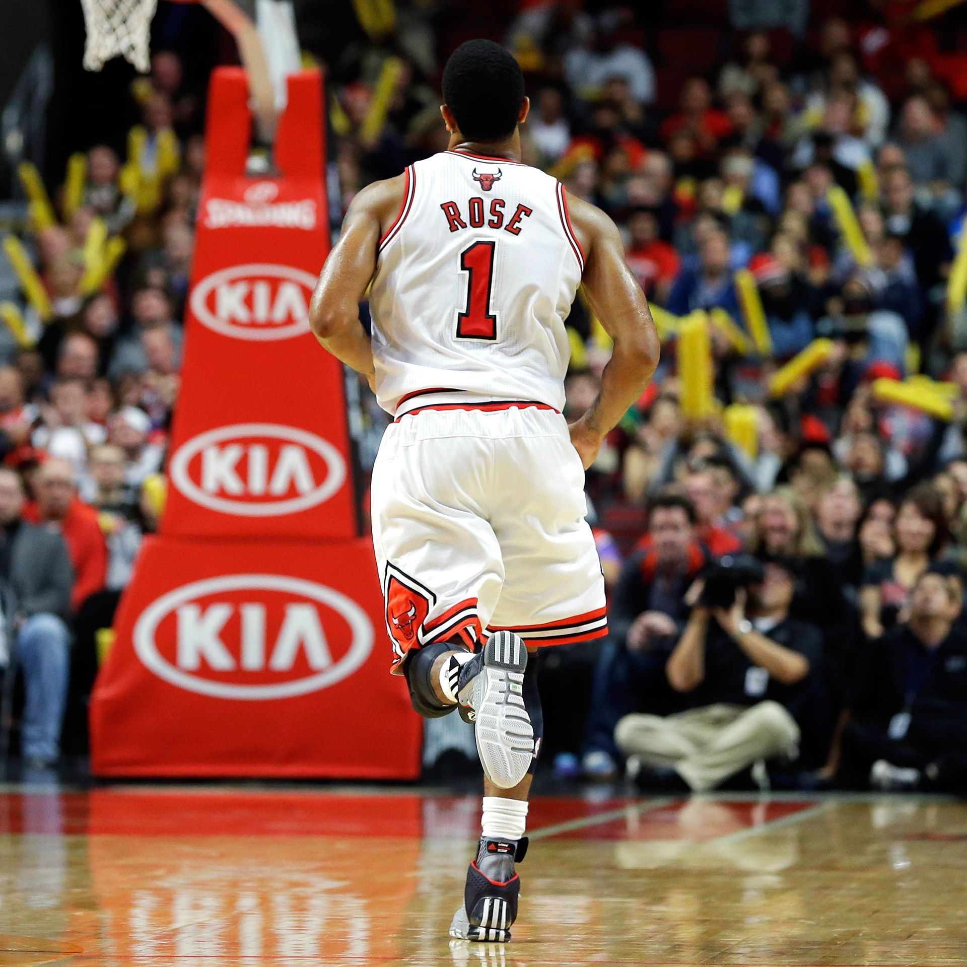 Derrick Rose says he's 'way more explosive' following recovery