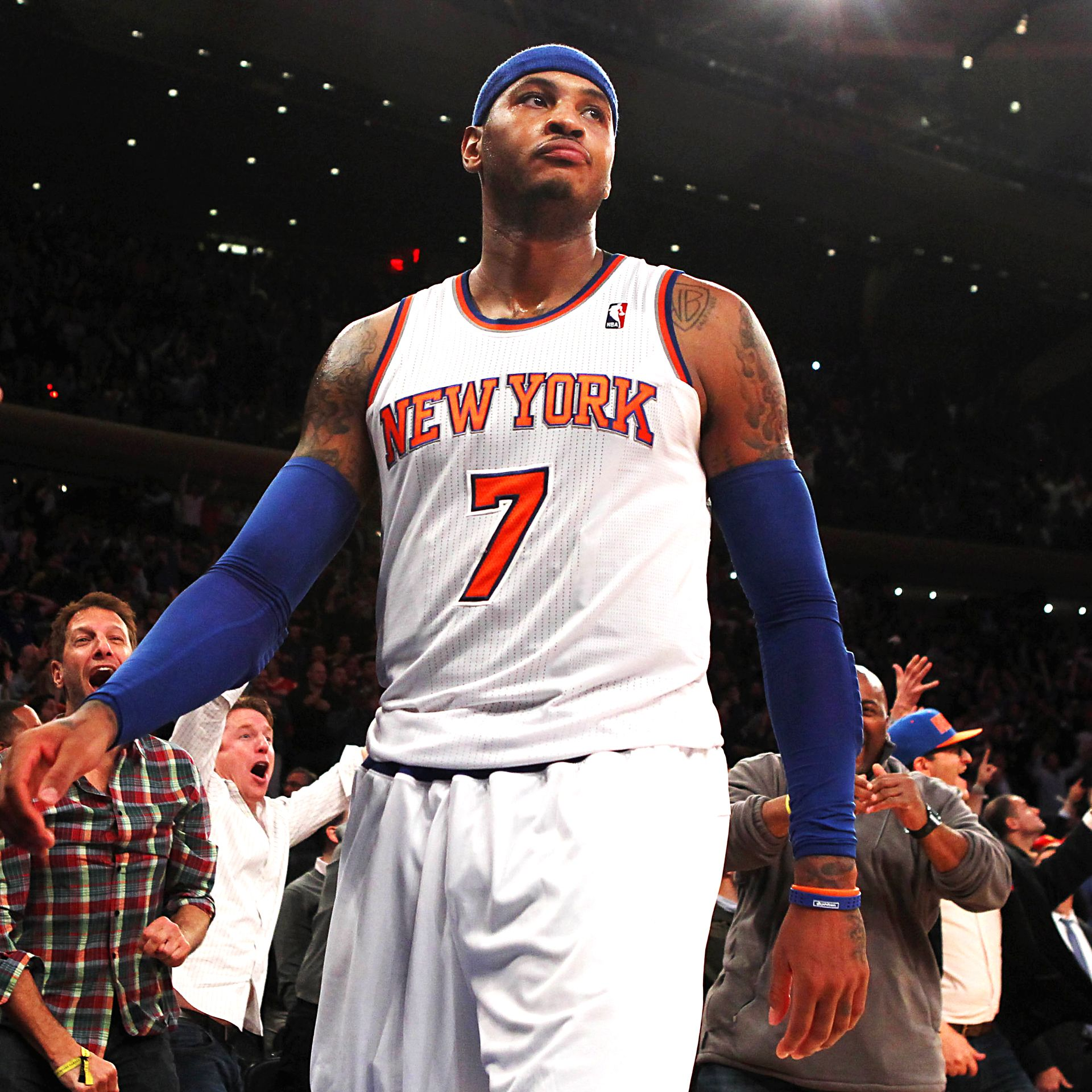 Carmelo Anthony Pistons Jersey: Could Bulls Be Trade Fit For Knicks' Carmelo Anthony?