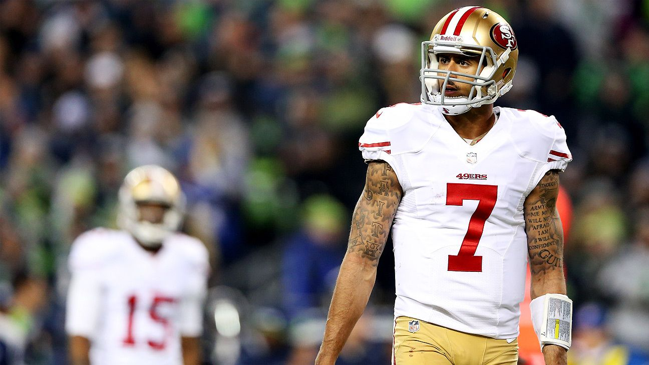 San Francisco 49ers Colin Kaepernick Other Players Will
