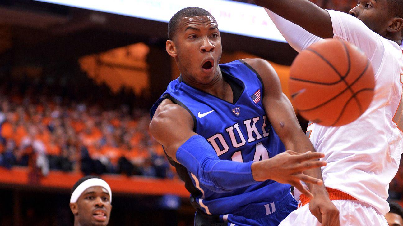 Duke Blue Devils dismiss junior Rasheed Sulaimon