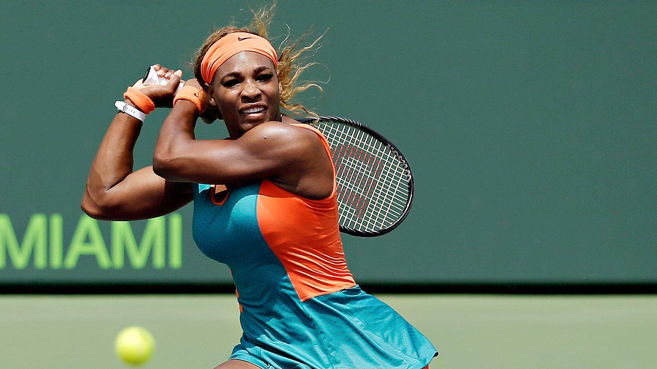Serena's future on her shoulders