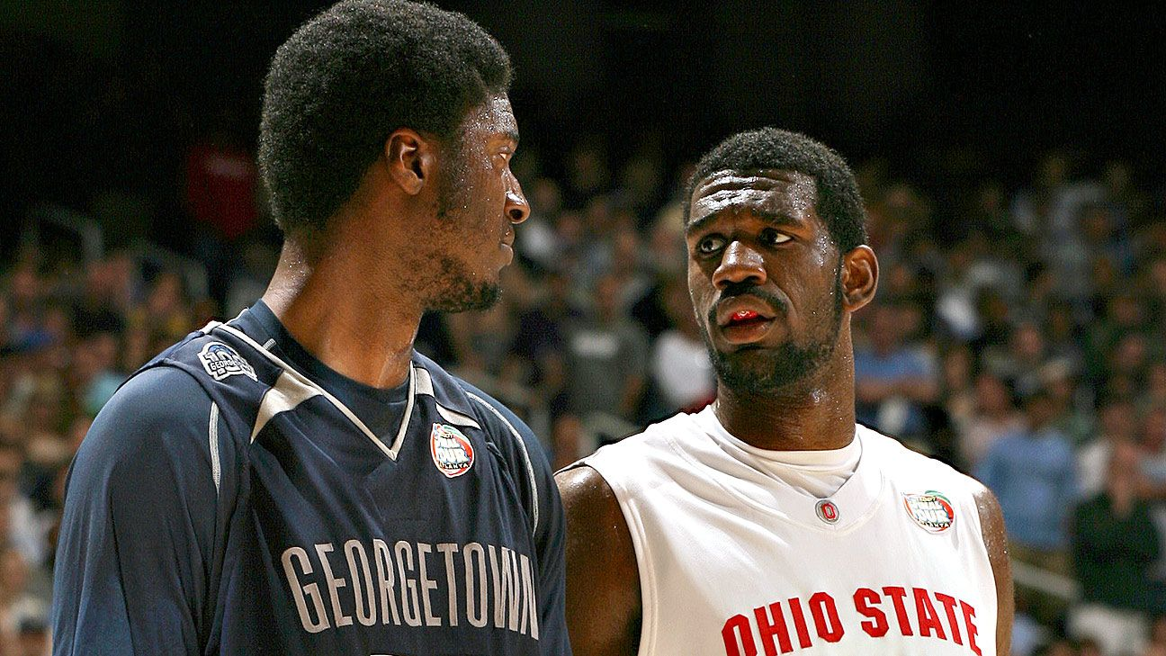 Greg Oden training at Ohio State