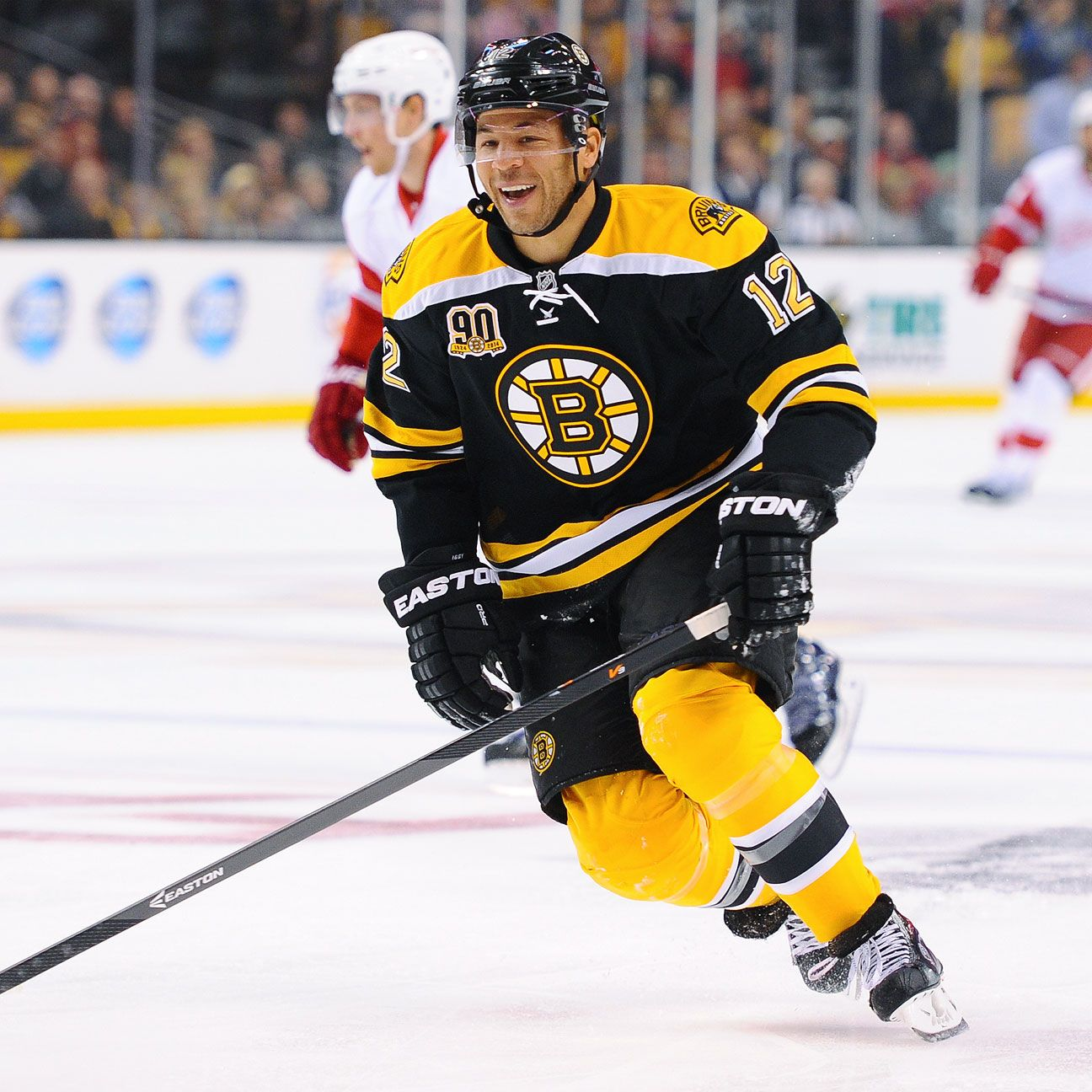 Boston Bruins' Jarome Iginla Itching To Etch Name On