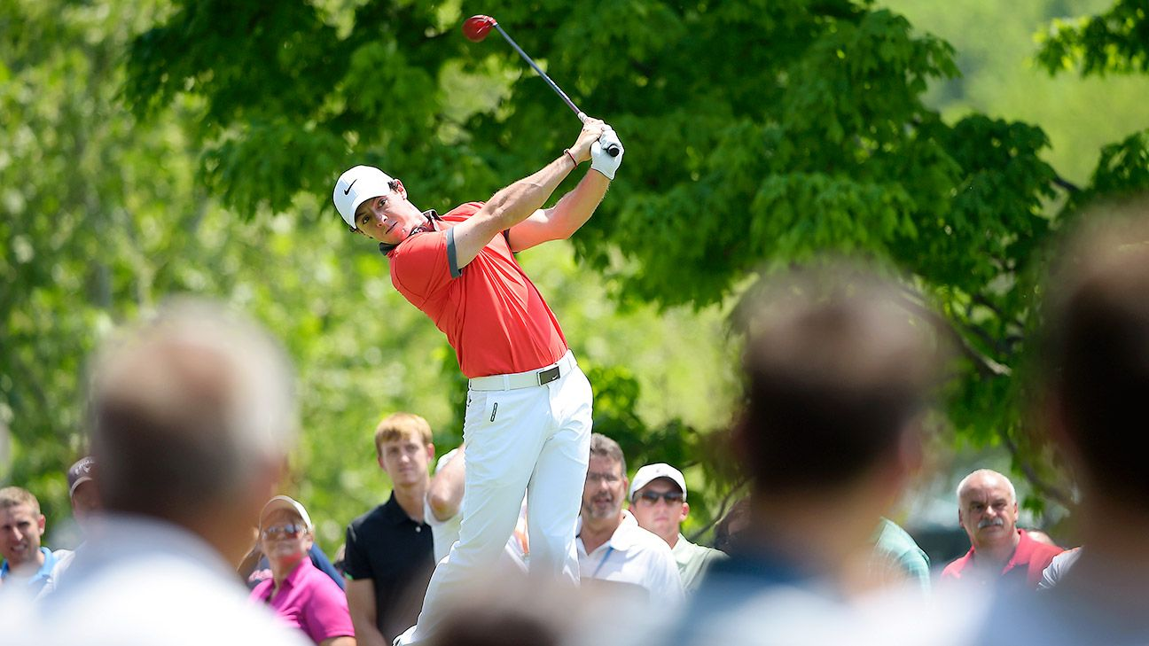 Rory McIlroy holds 3-shot lead
