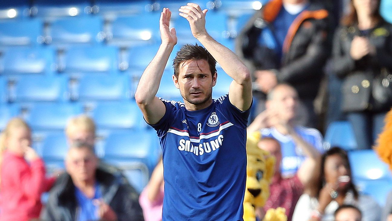 Frank Lampard coy over succeeding Michael Emenalo at Chelsea