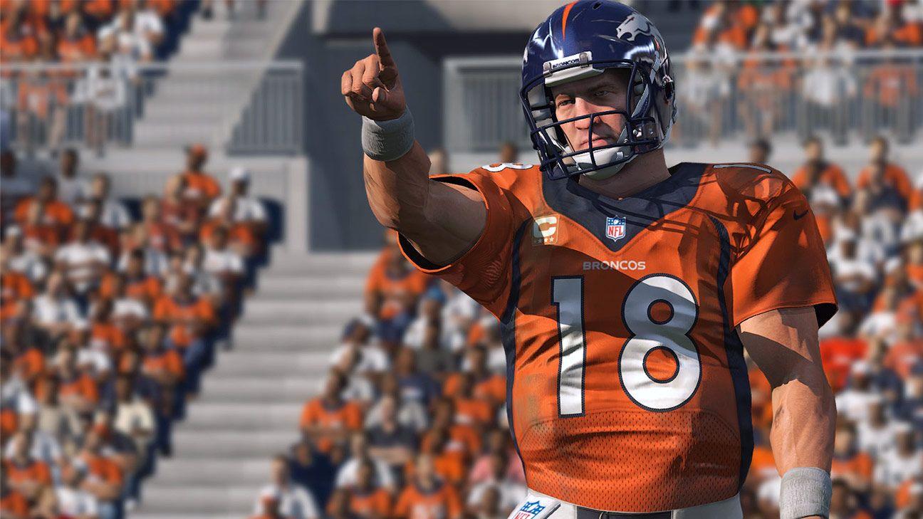 With next TD pass, Denver Broncos quarterback Peyton Manning