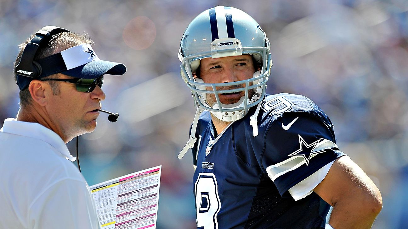 tony romo as complementary qb for dallas cowboys is just fine
