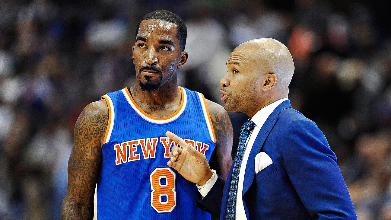 J.R. Smith: Knicks learning triangle