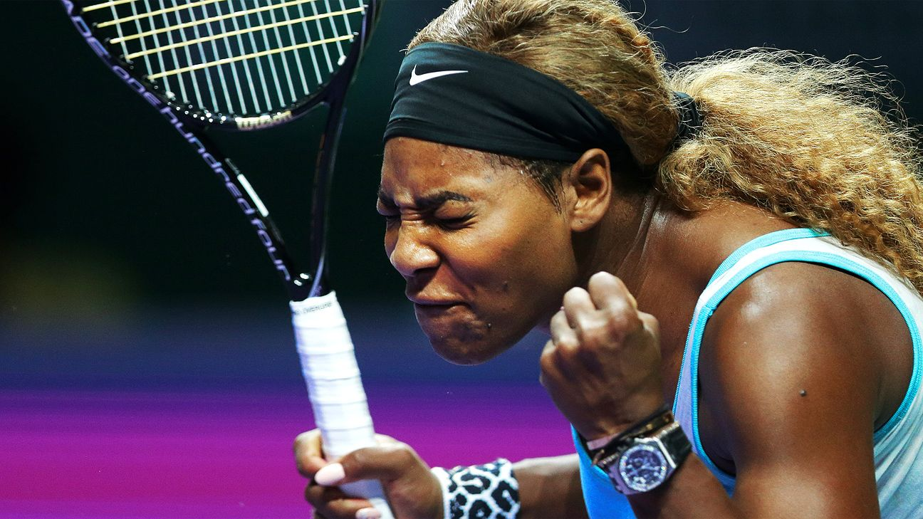 WTA Finals -- Serena Williams loses as round-robin play ...