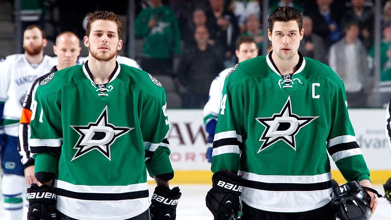 NHL -- Dallas Stars' dynamic duo Tyler Seguin and Jamie Benn clicking on and off the ice