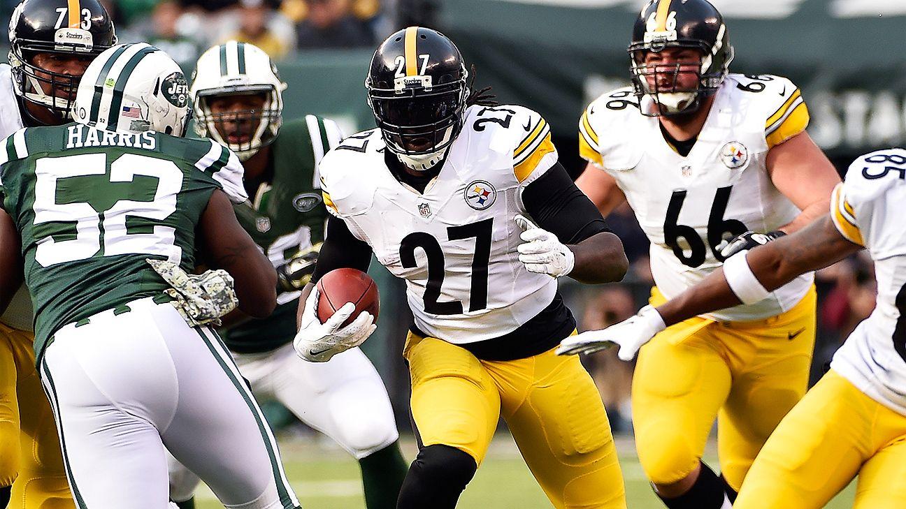 Steelers release LeGarrette Blount