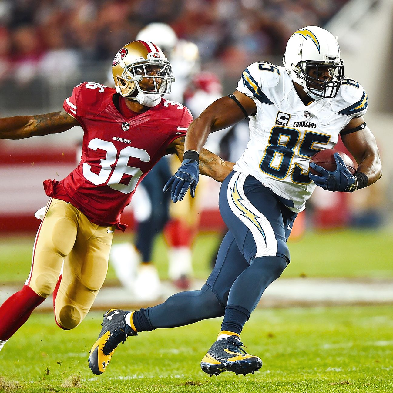 Antonio Gates Of San Diego Chargers Suspended 4 Games