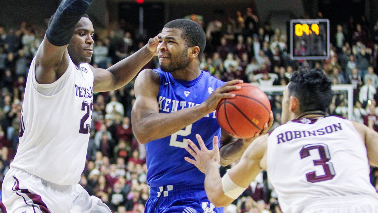 Kentucky learning to take every opponent's best shot