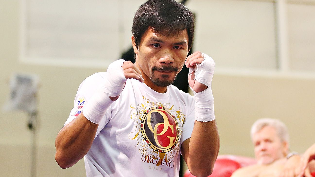 Manny Pacquiao arriving early to train,Mayweather-Pacquiao Is On