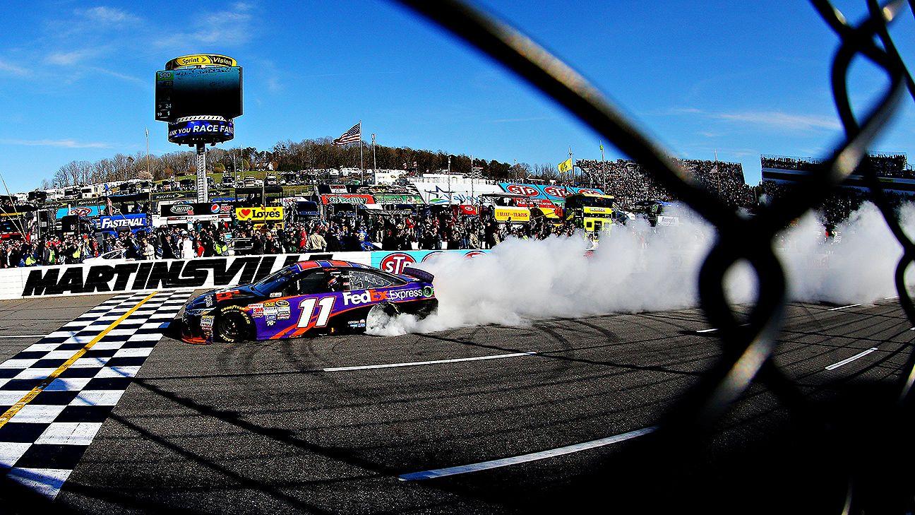 Hamlin wins at place he loves