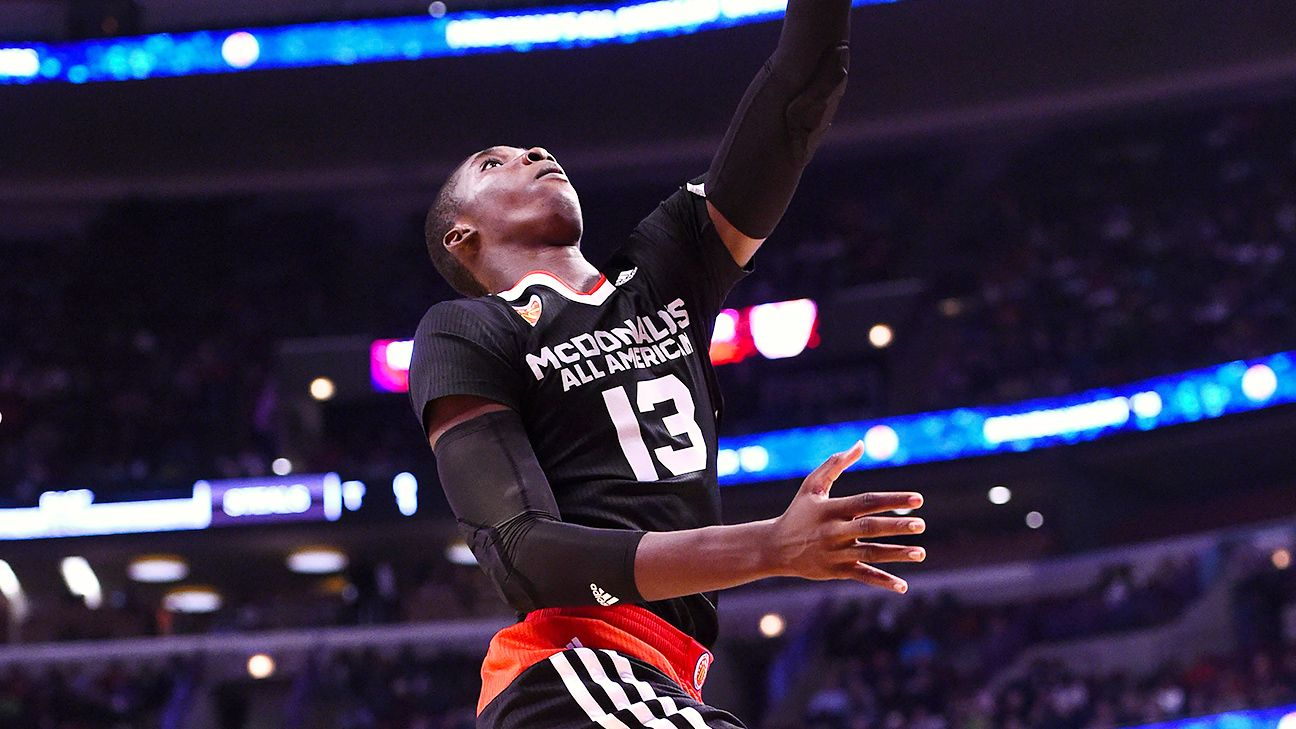 East beats West in McDonald's All-American boys' game