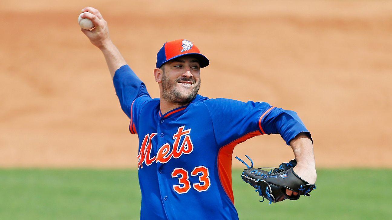 Matt Harvey of New York Mets ready for regular season