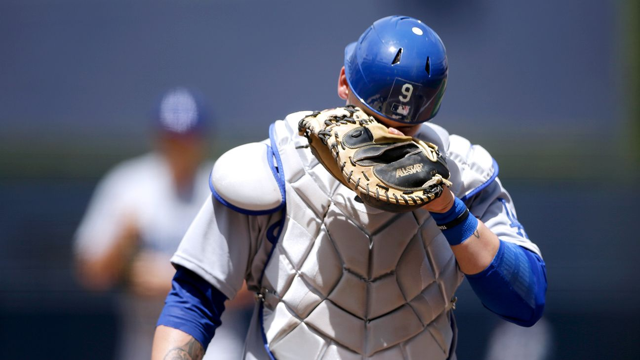 The Dodgers will have Yasmani Grandal, who was benched for Game 2 after a terrible Game 1, back behind the plate for Game 3 of the NLCS against the Brewers.