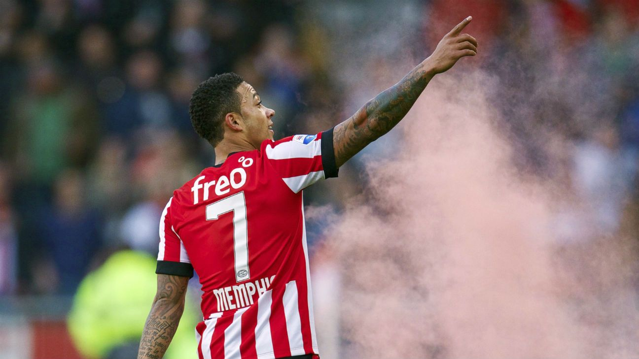 Image result for MEMPHIS DEPAY psv