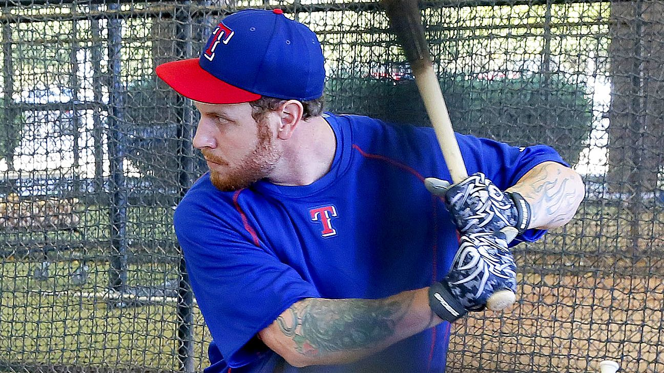 Rangers impressed by Josh Hamilton workouts