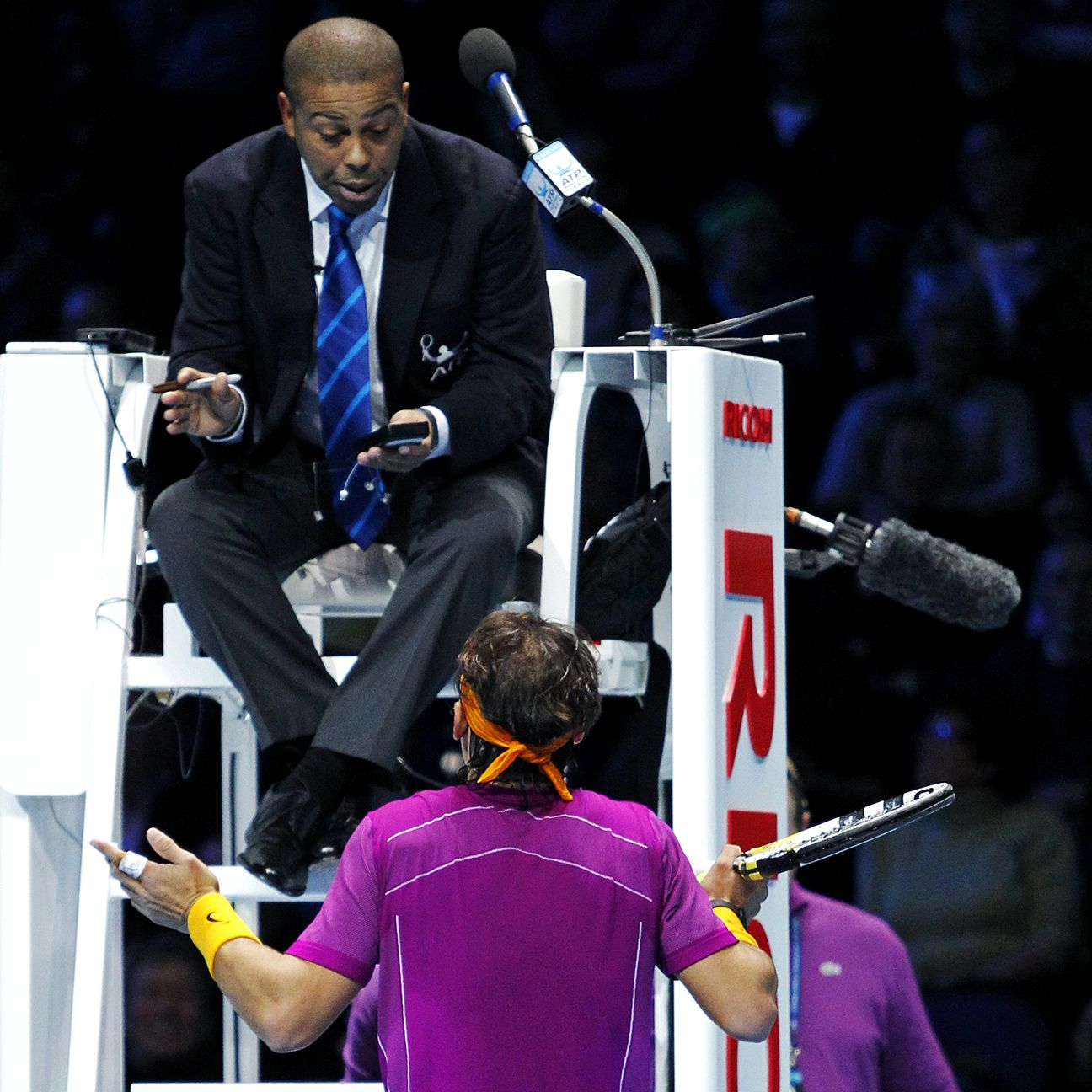 Nascar Racing Games >> Rafael Nadal requests chair umpire Carlos Bernardes not work his matches