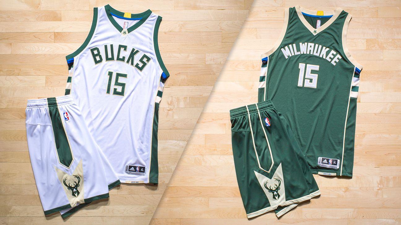 Milwaukee bucks uniforms