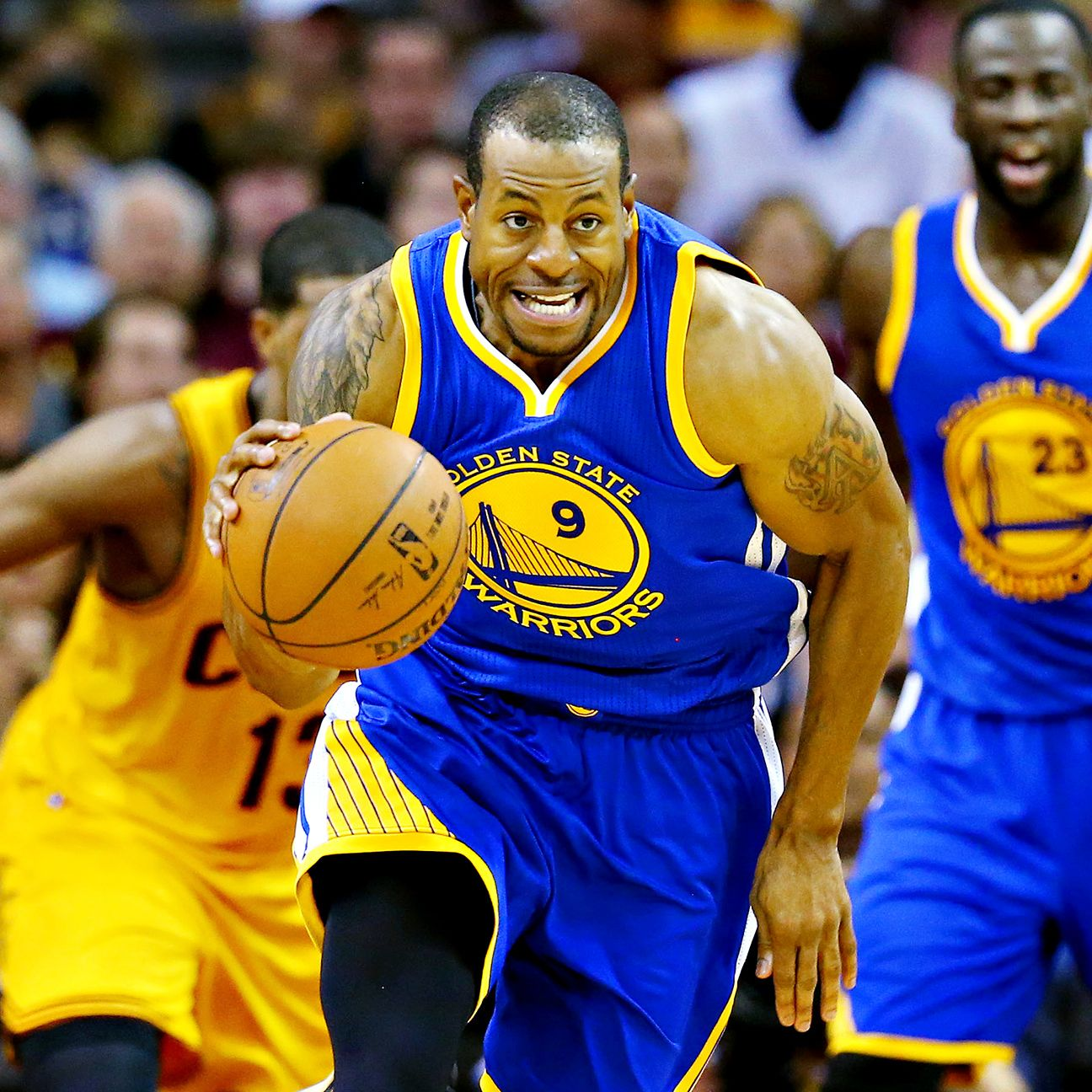 2015 NBA Playoffs: Andre Iguodala Starts Game 4