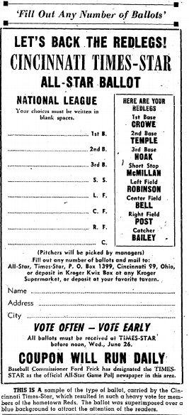 El escándalo de 1957: Las votaciones del Juego de Estrellas por los fans de Cincinnati I?img=%2Fphoto%2F2015%2F0629%2Fmlb_cincinatti_ballot_396x866