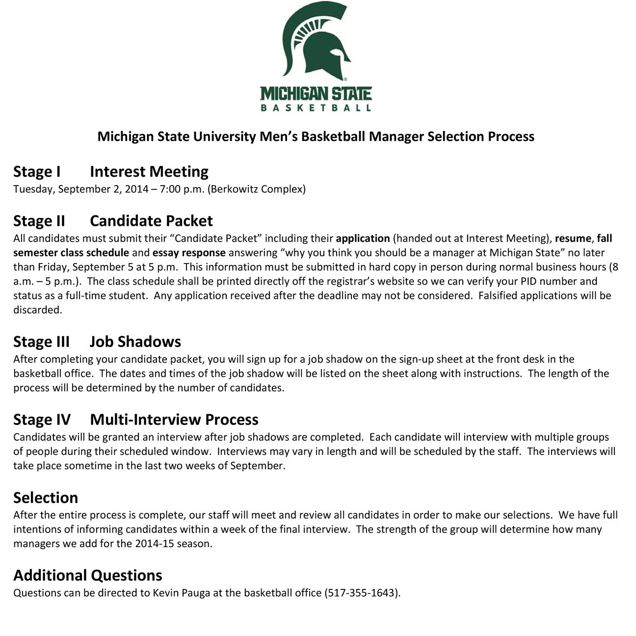 michigan state application essay writing the life of a college basketball student manager