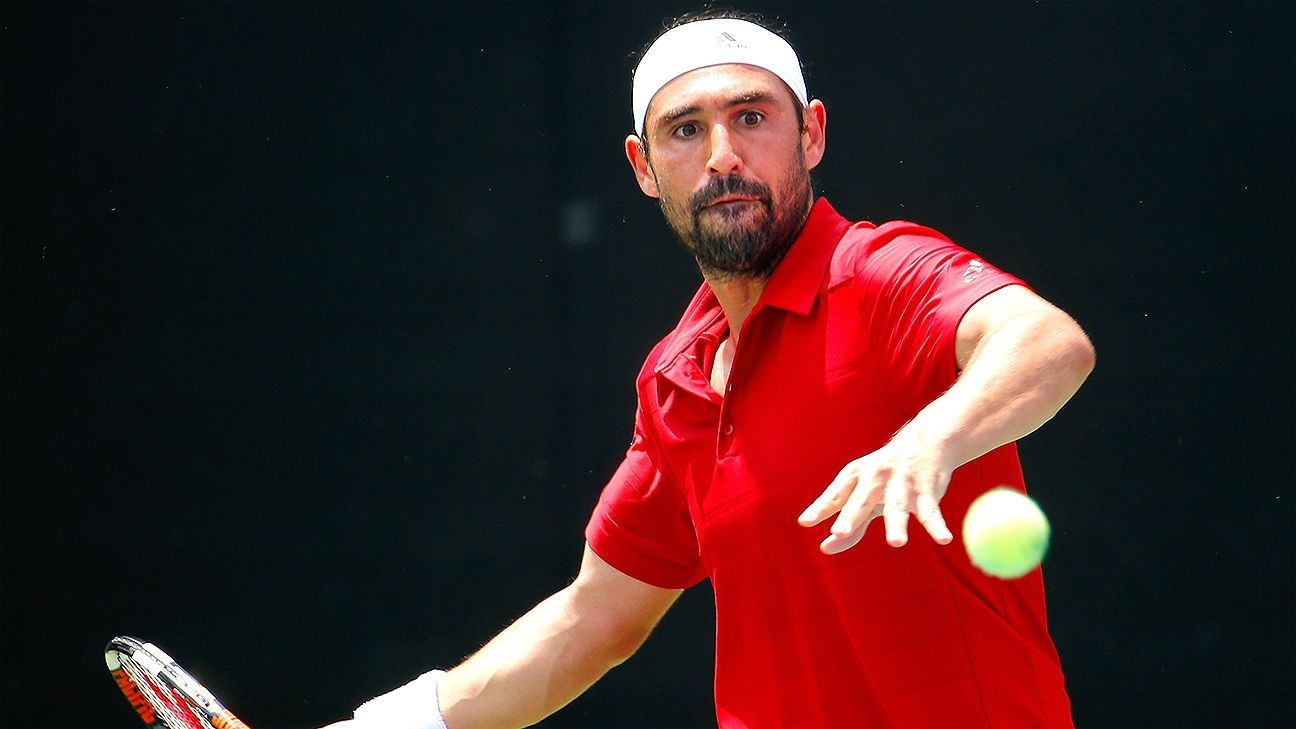 Marcos Baghdatis Ousts No 4 Bernard Tomic Advances To