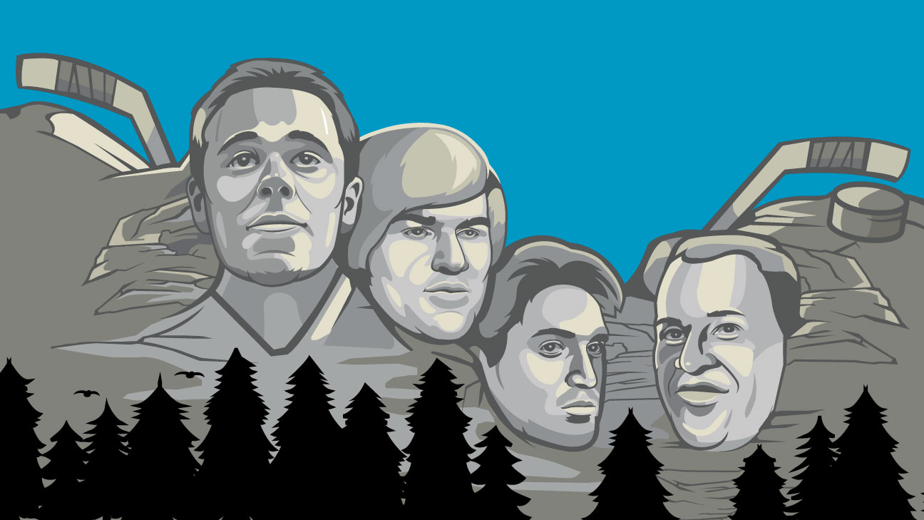 NHL -- Updating every NHL team's Mount Rushmore