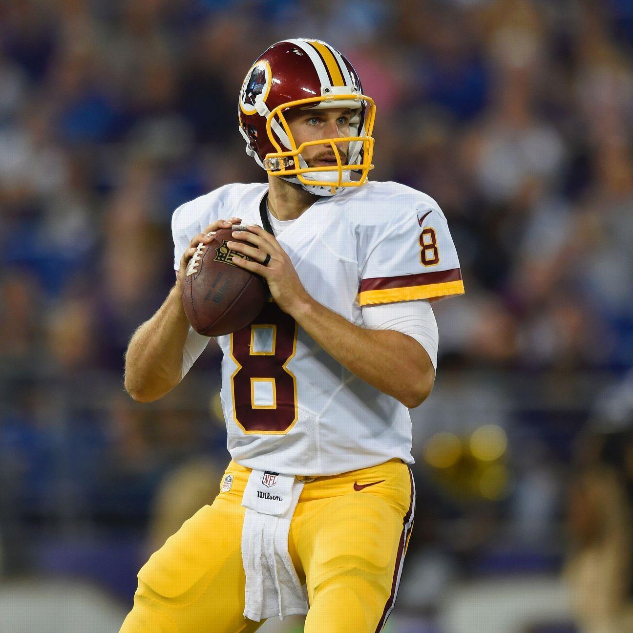 Kirk Cousins will be the Washington Redskins' starting quarterback ...